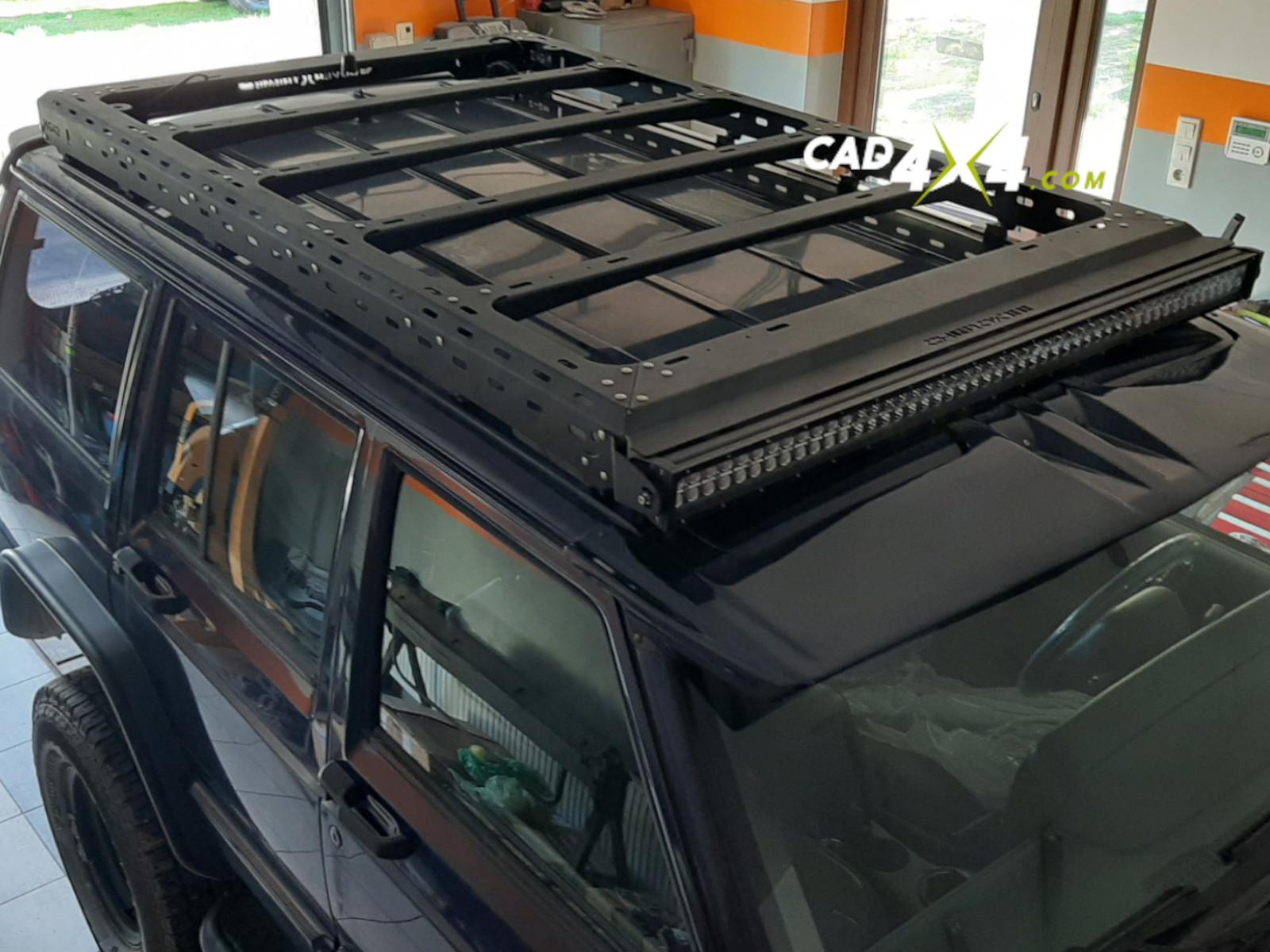 Jeep Cherokee XJ roof rack - CAD 4×4 Store